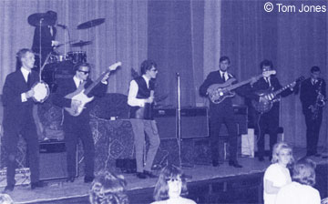 The Conchords at Solihull Civic Hall in 1964